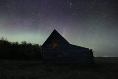 Backroads Abandonment (gerrypocha) Tags: house night dark stars lost backroads derelict abandonment