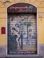 Street Food in San Lorenzo (Robert Barone) Tags: italy rome roma italia commute sanlorenzo micro43 olympusep5