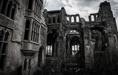 (Rodney Harvey) Tags: urban abandoned church stone scary ruins decay gothic indiana arches eerie spooky collapse gary haunting masonary cathedrel
