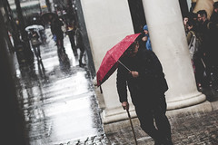 Nothing will stop me... (P1ay) Tags: street london rain canon airplane photography streetphotography explore photograph raindrops framing pictureoftheday streetportraits heavyrain streetmodel canon60d lightrooms p1ay streetphotograhpyinlondon