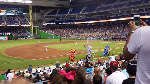 Ocean Race at Marlins Park