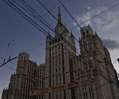 245 (kosmekosme) Tags: city sky building skyline architecture sisters skyscraper skyscrapers russia moscow seven sevensisters 1947 stalinist vysotki сталинскиевысотки staliniststyle stalinskievysotki stalinistskyscrapers
