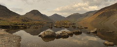 Wast Water Panorama Big_stitch (paulypaulpaul1) Tags: girls panorama reflection pentax infinity pano tripod lakedistrict cumbria mirrored polarizer manualfocus wastwater k5 explored screeslopes
