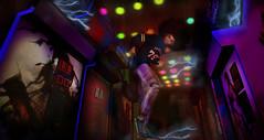 Time's gettin a little crazy... (Jinx Ulrik) Tags: light color photoshop flow dance arcade electricity shock videogame jinx toro megamix unorthodox badunicorn stockholmlima valekoer jinxulrik