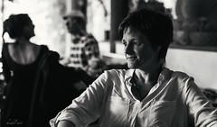 looking (heidel-art) Tags: street portrait people woman white black girl monochrome beautiful beauty 50mm mono blackwhite nikon women bokeh strasse streetphotography sigma portrt menschen portraiture monochrom personen einfarbig photopraphy d810 nikond810 sigmaart