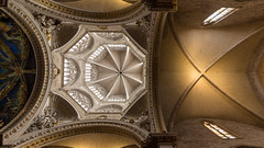 Cathedral Ceiling (rafa.esteve) Tags: espaa building church valencia architecture temple spain arquitectura cathedral edificio catedral iglesia templo 16x9