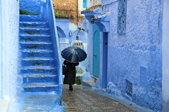 IMG_3683 (rachel_salay) Tags: city blue morocco chefchaouen