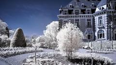 Chteau de namur -ir (Yasmine Hens) Tags: blue monochrome nikon europa flickr belgium ngc infrared namur hens yasmine wallonie 720nm infrarouge nikond90 iamflickr flickrunitedaward hensyasmine