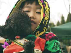 P50400132 (mina_371001) Tags: camping boy dog pet animal japan hokkaido relatives littleboy owner loveyou toypoodle photographywork olympusomdem10 hisowner