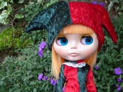 in the aubretia (spider8lesley) Tags: jester mango blythe simply