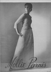 Mollie Parnis 1965 (moogirl2) Tags: vintage mod retro 1960s 1965 vouge vintageads 60sfashion vintagevogue mollieparnis