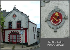The Old Fire Station, Penryn - 8 June 2016 (John Oram) Tags: cornwall penryn theoldfirestation picmonkey oldfirestationcollage