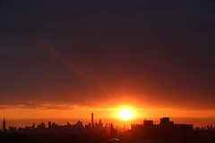2016May24 (3) (ShellyS) Tags: nyc newyorkcity sunset sky skyline clouds manhattan skylines sunsets