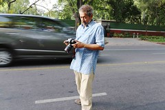 The Portrait of a Man Who Has Photographed All the 252 Species of Trees in the Worlds Most Polluted City (Mayank Austen Soofi) Tags: city trees portrait man all who delhi most species photographed has walla polluted the 252 pradip worlds krishen