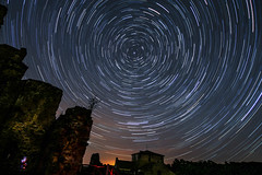 Saint-Germain-de-Confolens (traceysnelus) Tags: longexposure france nightscape astronomy saintgermain nightsky universe startrails polaris northstar confolens astrofarm
