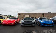 Corvette Z06s (scott597) Tags: blue ohio red house black rain open tuning corvette centerville c5 c6 z06 c7 proxses