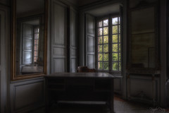The morning sun, brings a new day (Fragile Decay) Tags: home window was mirror desk decay empty forbidden forgotten abandonded once chateau fragile