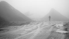 Maenofferen Quarry, Blaenau Ffestiniog (Joe Dunckley) Tags: uk winter cloud mist industry dan fog stone wales person slate snowdonia quarry gwynedd northwales blaenauffestiniog maenofferen maenofferenquarry