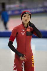A37W0169 (rieshug 1) Tags: ladies sport skating worldcup groningen isu dames schaatsen speedskating kardinge 1000m eisschnelllauf juniorworldcup knsb sportcentrumkardinge worldcupjunioren kardingeicestadium sportstadiumkardinge