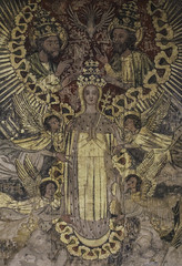 Regina Caelorum (Lawrence OP) Tags: heaven cathedral canterbury medieval angels coronation holytrinity blessedvirginmary