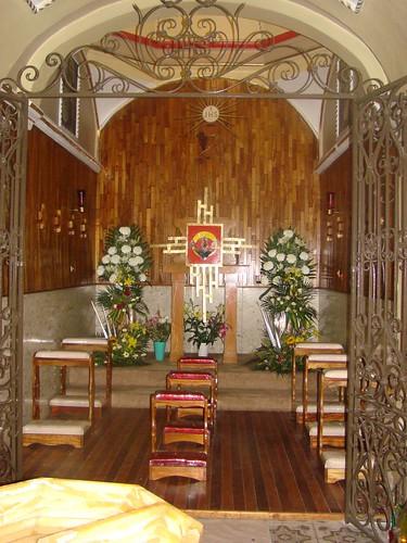 Capilla del Sagrario, Templo Parroquial antigua de San Matías Tlalancaleca, Pue.