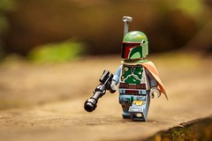 The deadliest Bounty Hunter (yudho w) Tags: starwars lego bobafett minifig clonewars minifigure bountyhunter