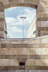 501 (Stadtromantikerin) Tags: sky lamp germany stuttgart geometry gebude geometrie grafisch