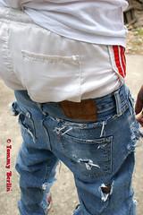 jeansbutt9590 (Tommy Berlin) Tags: men ass butt jeans ars levis adidasshort