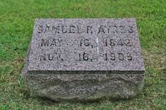 0U1A8132 Knoxville IA - Graceland Cemetery - INGLEFIELD AYRES (colinLmiller) Tags: monument knoxville headstone tombstone iowa gravestone ayres gracelandcemetery 2016 inglefield