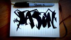 (timetomakethepasta) Tags: jason art design style marker drawing sketch black permanent cleanliness new york sharpie