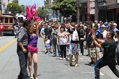SF Carnaval 2016 (DanceAndRun) Tags: sf carnival pink san francisco breast cancer parade carnaval cure manal 2016