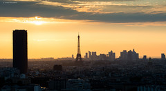Paris (Julianoz Photographies) Tags: sunset paris france monument architecture buildings europe mood cityscape eiffeltower toureiffel capitale 75 btiment 92 idf goldenhour ladfense tourmontparnasse observatoire immeubles villelumire nikond610 julianozphotographies