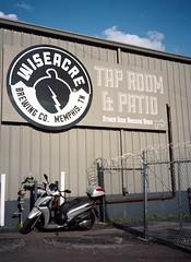 Wiseacre Tap Room & Patio (Sean Davis) Tags: beer memphis scooter wiseacre