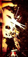 "Secret Fire: Creation — ""In the Beginning …"" (bernawy hugues kossi huo) Tags: bridge sculpture art nature rose fire daniel secret royal divine greatwork mind creator spiritual boundaries squared meaning pathway sculptor alchemy supernatural rosicrucian hourdé danielhourde"