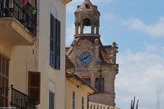 Perspective (picturesbywalther) Tags: tower church village perspective kirche stadt turm altstadt oldtown mallorca perspektive balearen allcudia