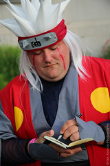 Jiraiya Notes (lotrdinonerd) Tags: anime mike michael notes cosplay brian north manga cook raleigh sage research carolina naruto pervy animazement jiraiya sanin 2016 koonce