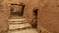 Interior, Ait ben-Haddou (macloo) Tags: travel morocco kasbah