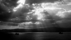 * (Timos L) Tags: sea seascape landscape gulf sony ships hellas greece shore rays attica attiki a700 salamina timosl