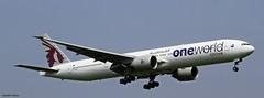 Qatar One World A7-BAB  _MG_0200 (M0JRA) Tags: world london one flying airport heathrow aircraft planes qatar a7bab