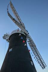 June sunset at Holgate Windmill - 2