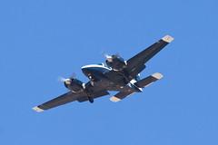 Private (Edwards Aero Club) Beech T-42A (95-B55B) N7073X (jbp274) Tags: airport airplanes t42 beechcraft palmdale beech baron pmd 95b55 plant42 kpmd