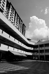 IMG_1674 (jumppoint5) Tags: city light urban blackandwhite building clouds contrast shadows estate hdb rochor
