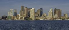 Boston Skyline (Philip Scott Johnson) Tags: boston pierspark bostonskyline eastboston bostonharbor downtownboston bostonmassachusetts jeffriespoint