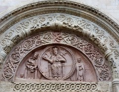 Assisi - Cattedrale di San Rufino (Martin M. Miles - on the road again..) Tags: italy portal perugia assisi umbria tympanum umbrien assisicathedral gregoryix sanrufino cattedraledisanrufino romanesqueportal cattedralediassisi