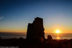 Salento d'Amare - 01 (giorgionuzzo) Tags: sea sky italy sun mountain tower sunrise landscape tramonto mare alba cielo sole albania salento torri imagine31nuzzogiorgio