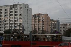 IMG_0258 (christbt) Tags: red bus gente poland warsaw rushhour comunismo peakhour horapunta