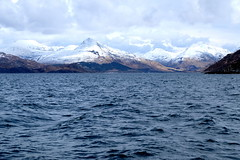 Knodart from Western Isles ferry (Lotje quilts) Tags: scotland highlands hills loch westernisles knoydart inverie