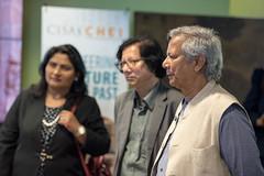 Muhammad Yunus Visit (59 of 92) (calit2) Tags: june demo san diego visit speaker commencement visualization muhammad ucsd yunus calit2 2016 ucsandiego muhammadyunus qualcomminstitute