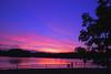 Watching sunset (CU TEO MD) Tags: pink blue trees sunset people cloud lake water fence landscape leaf nikon bravo purple maryland explore d500 simplysuperb naturebynikon