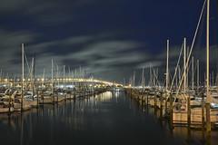 Auckland Boats (1Nine8Four) Tags: longexposure newzealand nikon nightshot auckland nz northisland nightshots northland dx 18200mm aucklandskytower nikondx 18200mmvr d7100 nikon18200mmf3556vr nikond7100
